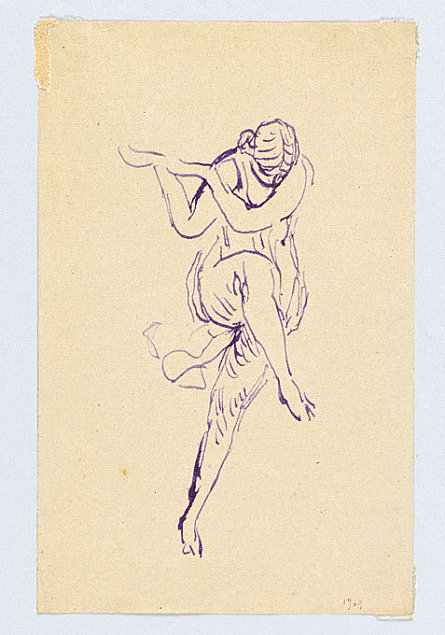 Isadora Duncan expo centre Pompidou