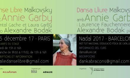 Retrouvez Annie Garby et Alexandre Bodak à Paris, avec chantal gache