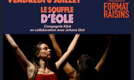 Compagnie Kôré, Le souffle d'Eole