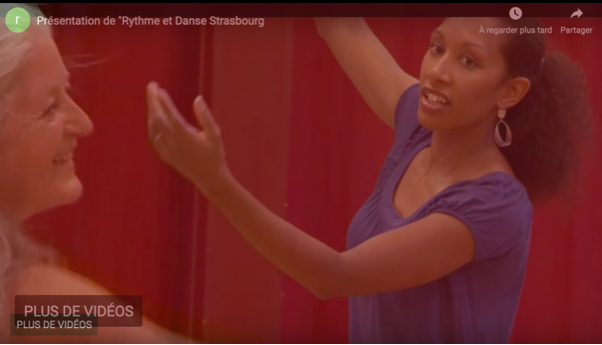 Belle présentation vidéo par Francine Gartner, association Rythme et Danse Strasbourg