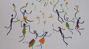 Danse Libre en ligne, danser ce printemps, une demi heure de danse par jour